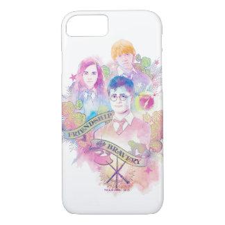 Harry Potter Spell | Harry, Hermione, & Ron Waterc iPhone 8/7 Case