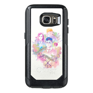 Harry Potter Spell | Harry, Hermione, & Ron Waterc OtterBox Samsung Galaxy S7 Case