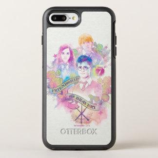 Harry Potter Spell | Harry, Hermione, & Ron Waterc OtterBox Symmetry iPhone 8 Plus/7 Plus Case