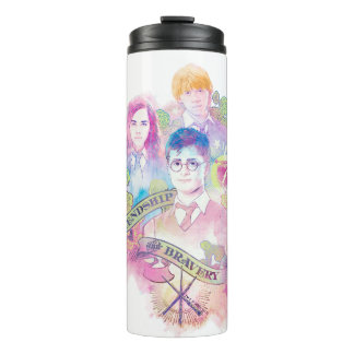 Harry Potter Spell | Harry, Hermione, & Ron Waterc Thermal Tumbler