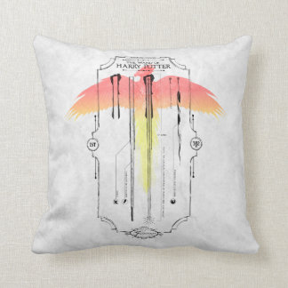 Harry Potter Spell | Harry's Wand Infographic Cushion