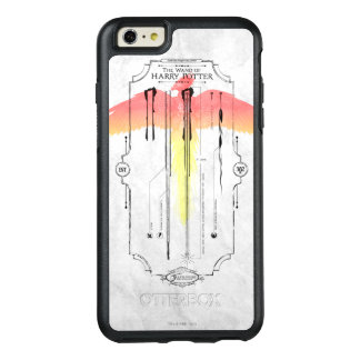 Harry Potter Spell | Harry's Wand Infographic OtterBox iPhone 6/6s Plus Case