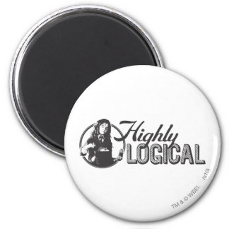 Harry Potter Spell | Highly Logical 6 Cm Round Magnet