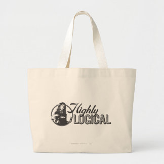 Harry Potter Spell | Highly Logical Large Tote Bag