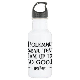 Harry Potter Spell | I Solemnly Swear 532 Ml Water Bottle