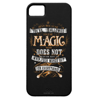 Harry Potter Spell | Just Because You're Allowed T iPhone 5 Case