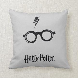 Harry Potter Spell   Lightning Scar and Glasses Cushion