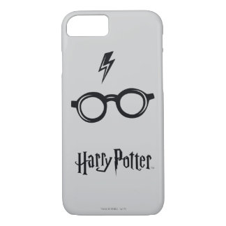 Harry Potter Spell | Lightning Scar and Glasses iPhone 8/7 Case