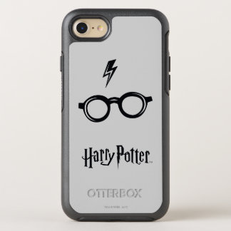 Harry Potter Spell | Lightning Scar and Glasses OtterBox Symmetry iPhone 8/7 Case