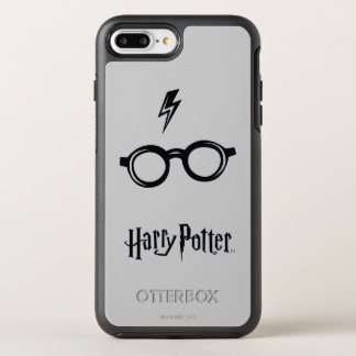 Harry Potter Spell | Lightning Scar and Glasses OtterBox Symmetry iPhone 8 Plus/7 Plus Case