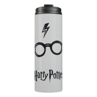 Harry Potter Spell | Lightning Scar and Glasses Thermal Tumbler