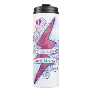 Harry Potter Spell | Love Leaves Its Own Mark Thermal Tumbler