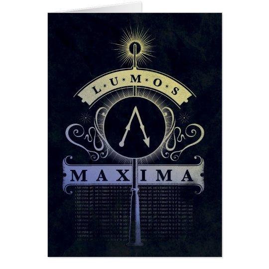 Harry Potter Spell | Lumos Maxima Graphic Card