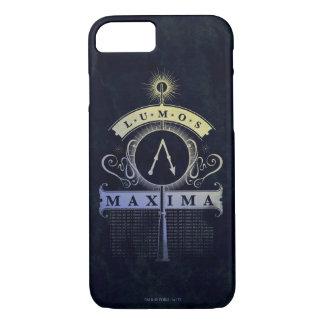 Harry Potter Spell   Lumos Maxima Graphic iPhone 8/7 Case
