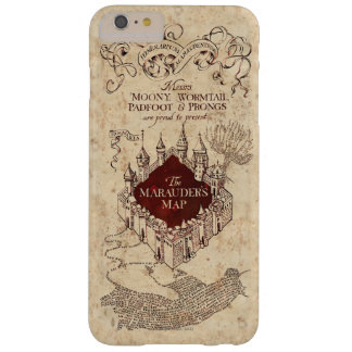 Harry Potter Spell | Marauder's Map Barely There iPhone 6 Plus Case