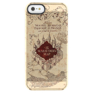 Harry Potter Spell | Marauder's Map Clear iPhone SE/5/5s Case