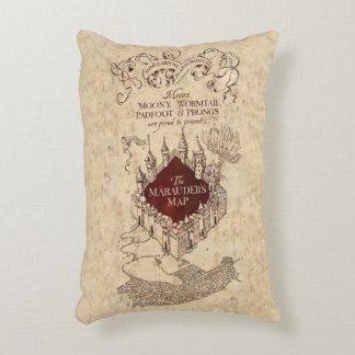 Harry Potter Spell   Marauder's Map Decorative Cushion