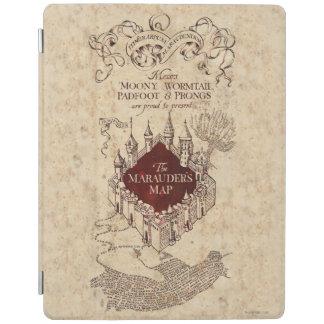 Harry Potter Spell   Marauder's Map iPad Cover