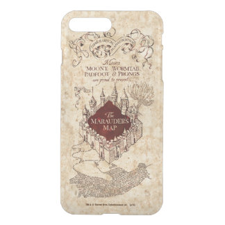Harry Potter Spell   Marauder's Map iPhone 7 Plus Case