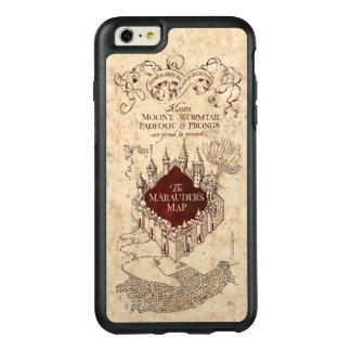 Harry Potter Spell | Marauder's Map OtterBox iPhone 6/6s Plus Case