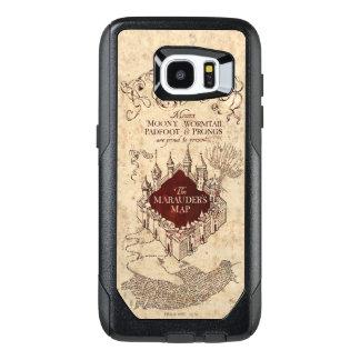 Harry Potter Spell | Marauder's Map OtterBox Samsung Galaxy S7 Edge Case