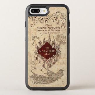 Harry Potter Spell   Marauder's Map OtterBox Symmetry iPhone 7 Plus Case