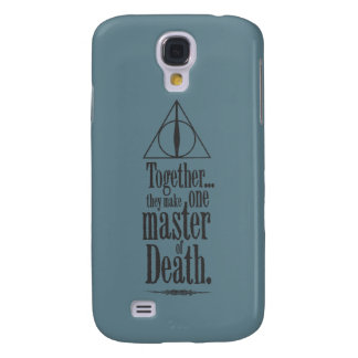 Harry Potter Spell | Master of Death Galaxy S4 Case