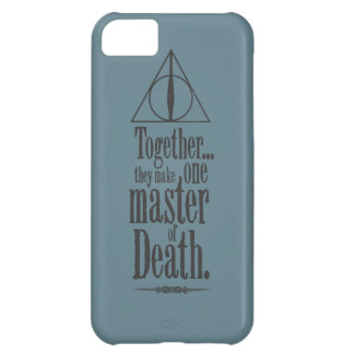 Harry Potter Spell | Master of Death iPhone 5C Case
