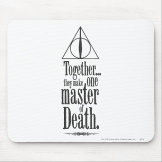 Harry Potter Spell | Master of Death Mouse Pad