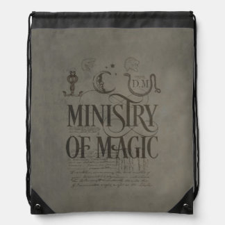 Harry Potter Spell | MINISTRY OF MAGIC Drawstring Bag