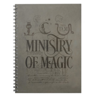 Harry Potter Spell | MINISTRY OF MAGIC Spiral Notebook