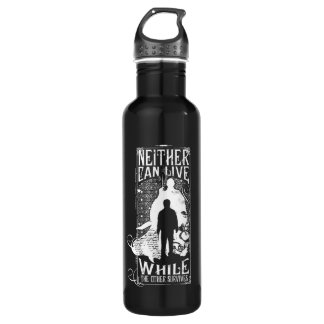 Harry Potter Spell | Neither Can Live 710 Ml Water Bottle