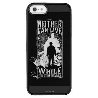 Harry Potter Spell | Neither Can Live Clear iPhone SE/5/5s Case