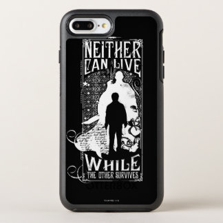 Harry Potter Spell | Neither Can Live OtterBox Symmetry iPhone 8 Plus/7 Plus Case