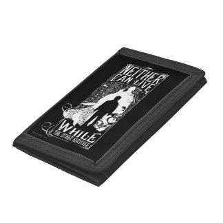 Harry Potter Spell | Neither Can Live Trifold Wallets