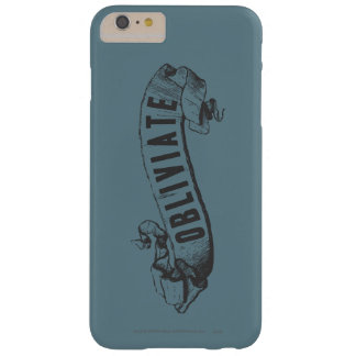 Harry Potter Spell | Obliviate Barely There iPhone 6 Plus Case
