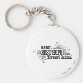 Harry Potter Spell   Our Best Hope Key Ring