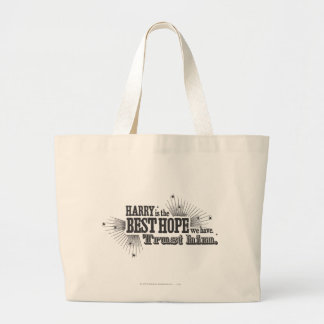 Harry Potter Spell | Our Best Hope Large Tote Bag