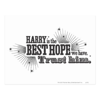 Harry Potter Spell | Our Best Hope Postcard