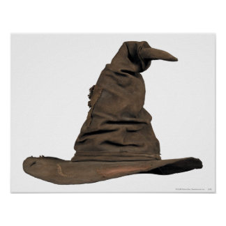 Harry Potter Spell | Sorting Hat Poster