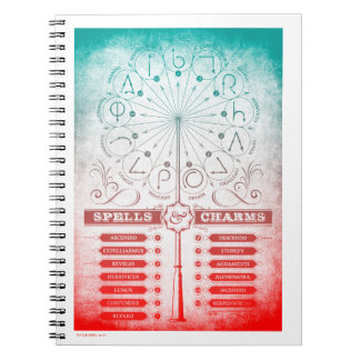 Harry Potter Spell | Spells & Charms Instruction C Notebooks