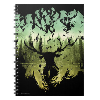 Harry Potter Spell | Stag Patronus Notebook