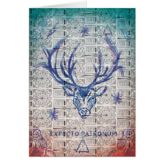 Harry Potter Spell | Stag Patronus Sketch Card