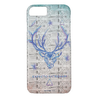 Harry Potter Spell | Stag Patronus Sketch iPhone 8/7 Case