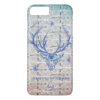 Harry Potter Spell | Stag Patronus Sketch iPhone 8 Plus/7 Plus Case