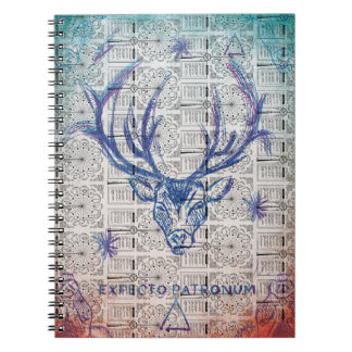 Harry Potter Spell | Stag Patronus Sketch Spiral Notebooks