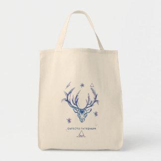 Harry Potter Spell | Stag Patronus Sketch Tote Bag