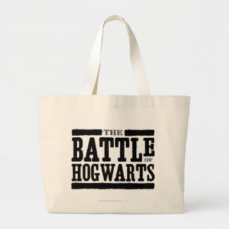 Harry Potter Spell | The Battle of Hogwarts Large Tote Bag
