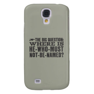 Harry Potter Spell | Where is Voldermort? Galaxy S4 Case