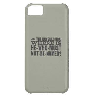 Harry Potter Spell | Where is Voldermort? iPhone 5C Case
